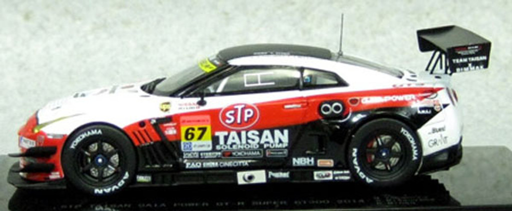 Ebbro 45085 STP TAISAN GAIA POWER GT-R SUPER GT300 2014 No.67 Wihte 1/43 Scale