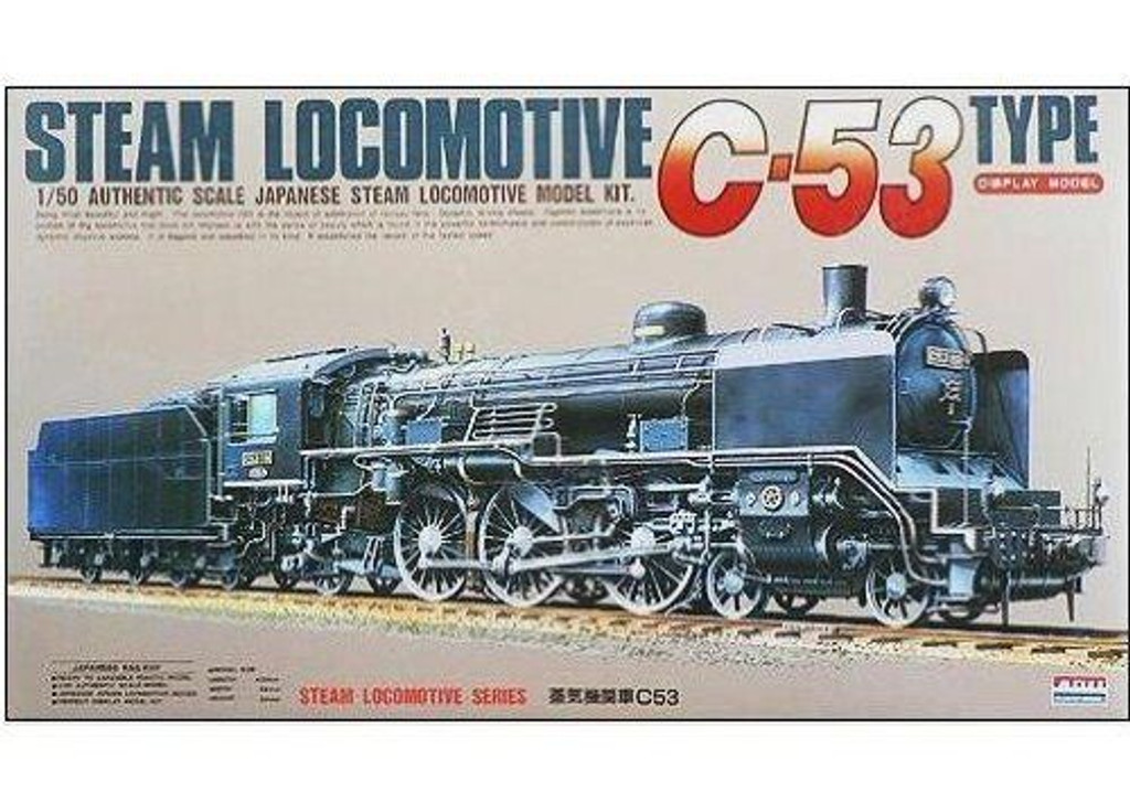Arii 356067 Japanese Steam Locomotive C-53 Type 1/50 Scale Kit (Microace)