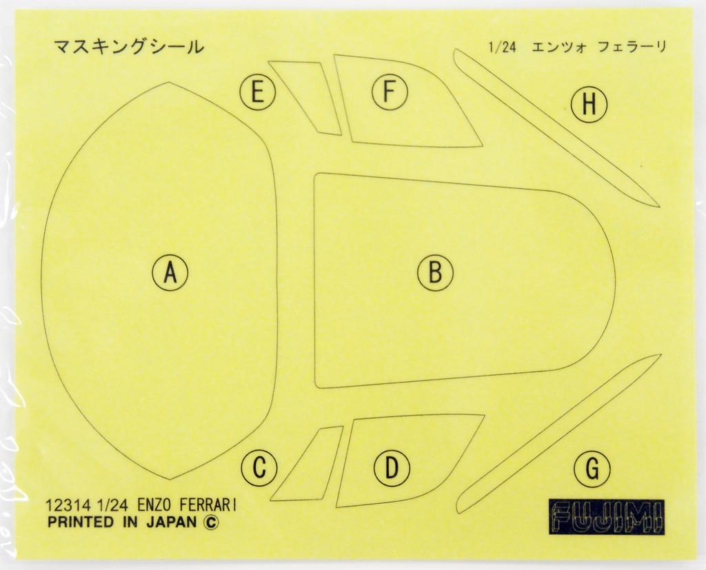 Fujimi RS-102 Enzo Ferrari 1/24 Scale Kit
