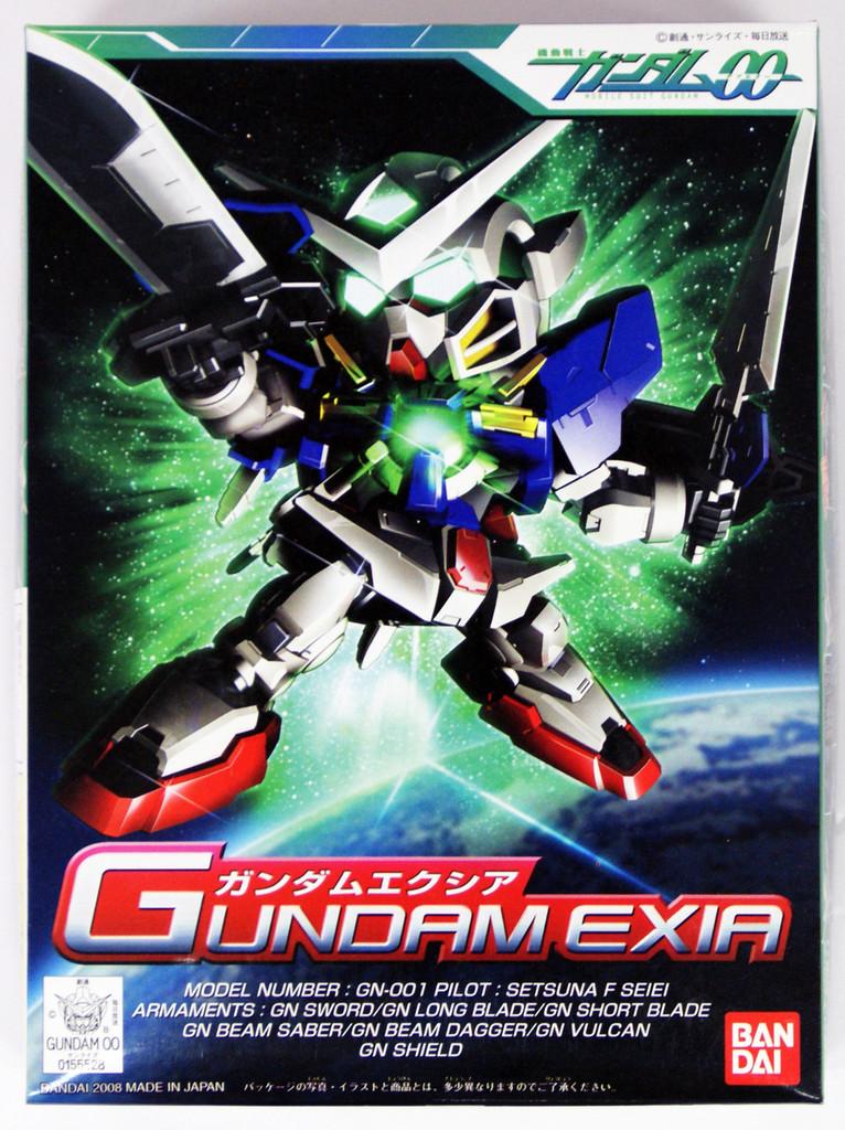 Bandai SD BB 313 Gundam Exia Plastic Model Kit