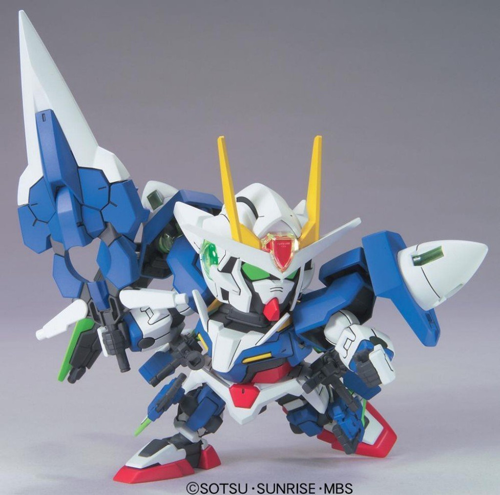 Bandai SD BB 368 Gundam OO Gundam Seven Sword/G Plastic Model Kit