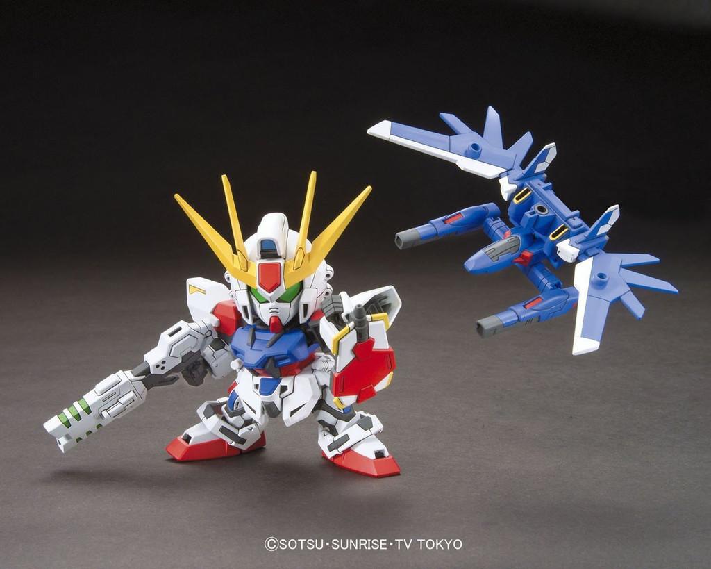 Bandai SD BB 388 Gundam Build Strike Gundam Full Package Plastic Model Kit