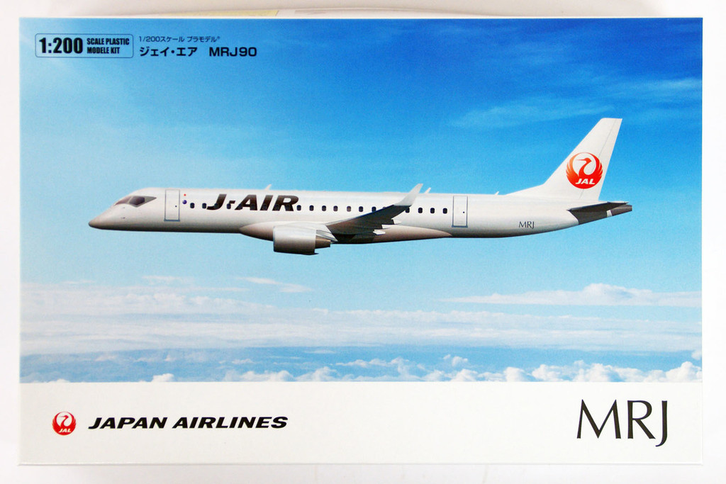 Fine Molds 15505 Japan Airlines MRJ 90 1/200 Scale Kit