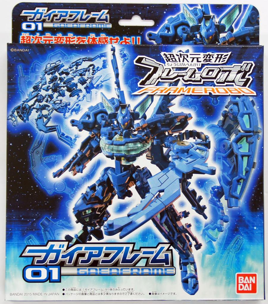 Bandai 018704 FRAMERobo 01 GAIAFRAME Plastic Model Kit