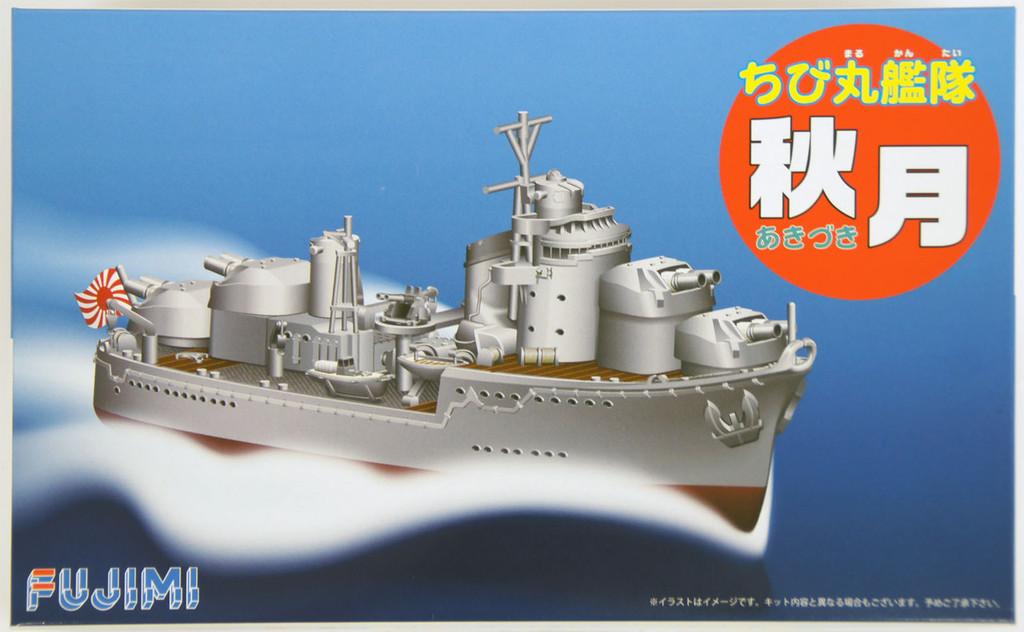 Fujimi TK11 Chibi-maru Kantai Fleet IJN Destroyer Akizuki non-Scale Kit