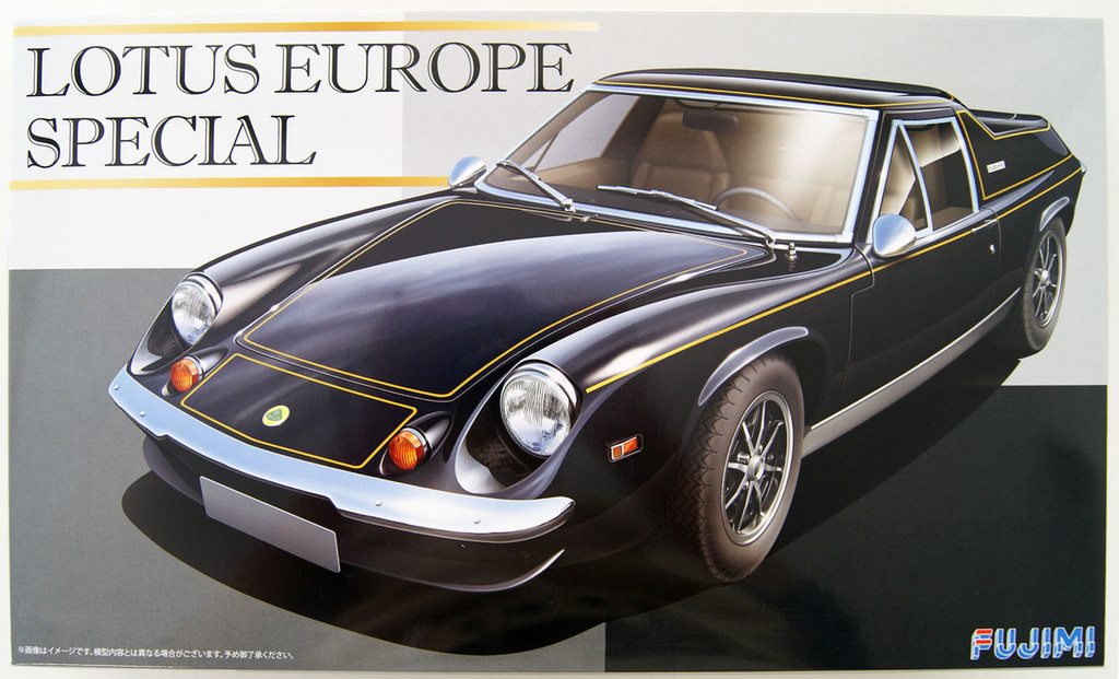 Fujimi RS-100 Lotus Europe Special 1/24 Scale Kit