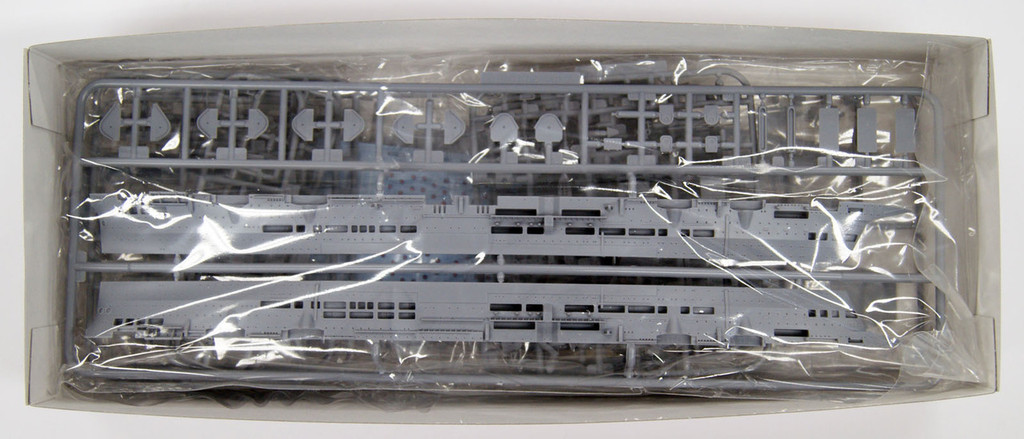 Aoshima Waterline 10228 HMS British Aircraft Carrier ARKROYAL 1941 & U-81 1/700 Scale Kit