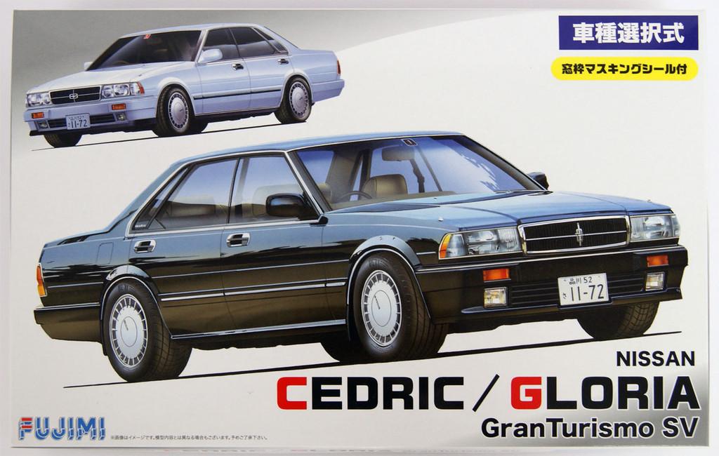 Fujimi ID-138 Nissan Cedric or Gloria 2.0 Gran Turismo SV 1/24 convertible Kit 039442
