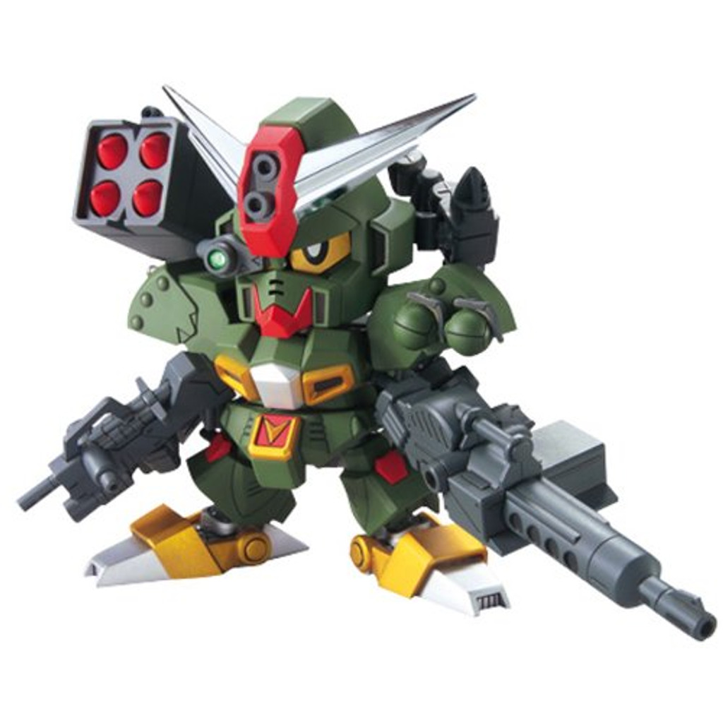 Bandai SD BB 375 Gundam Command Gundam Plastic Model Kit