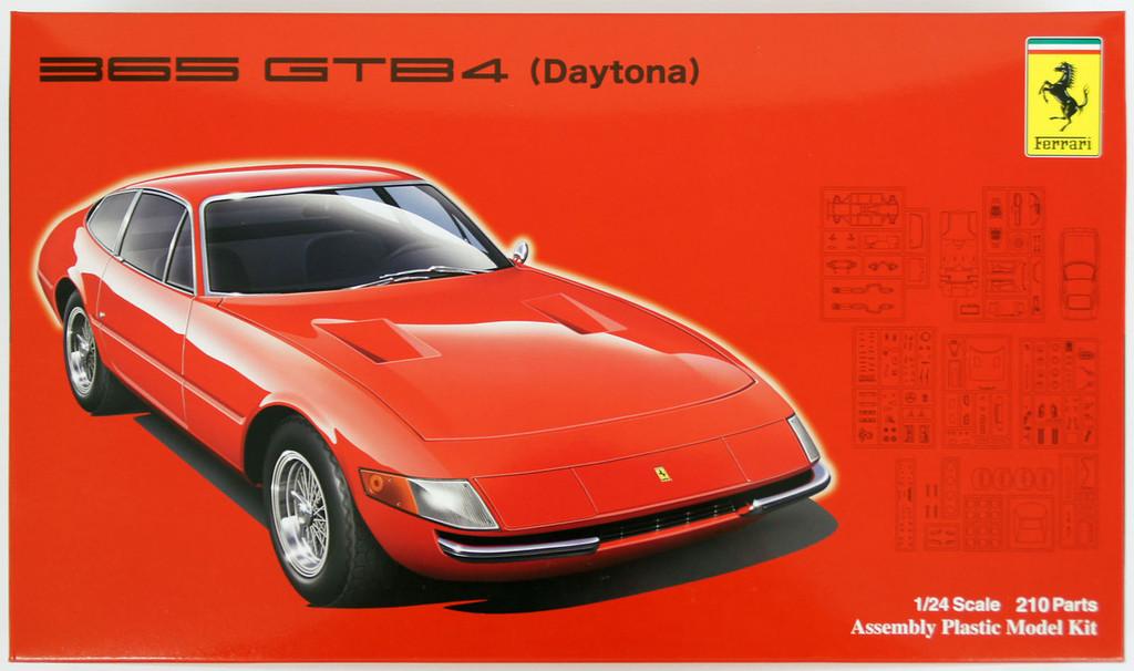 Fujimi RS-107 Ferrari 365 GTB4 Daytona 1/24 Scale Kit