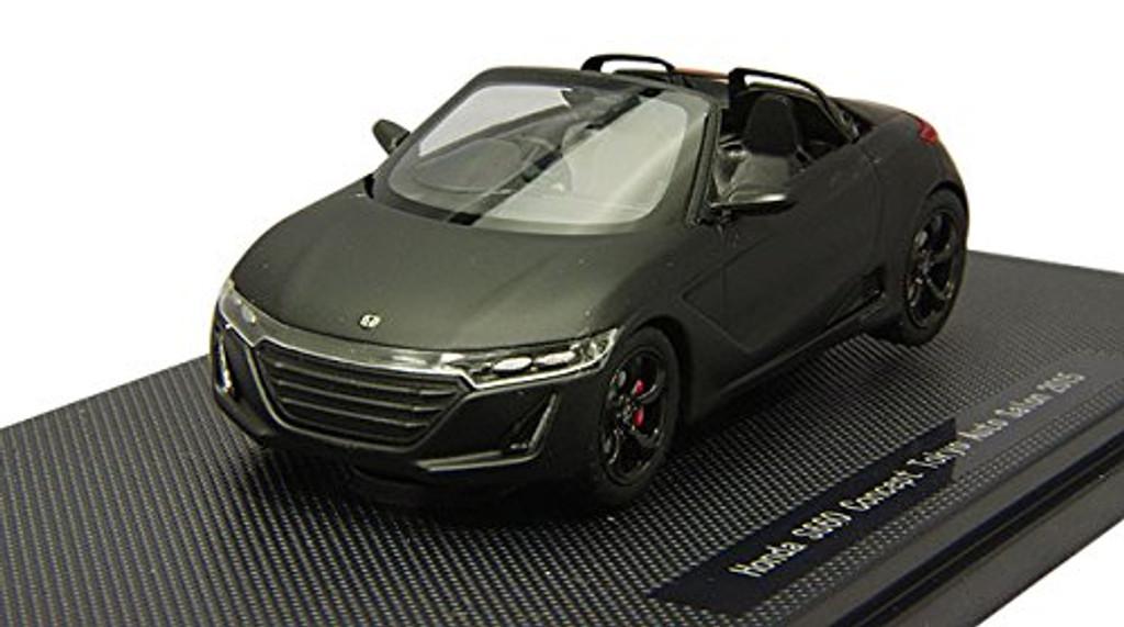 Ebbro 45232 HONDA S660 Tokyo Auto Salon 2015 Matte Black 1/43 Scale