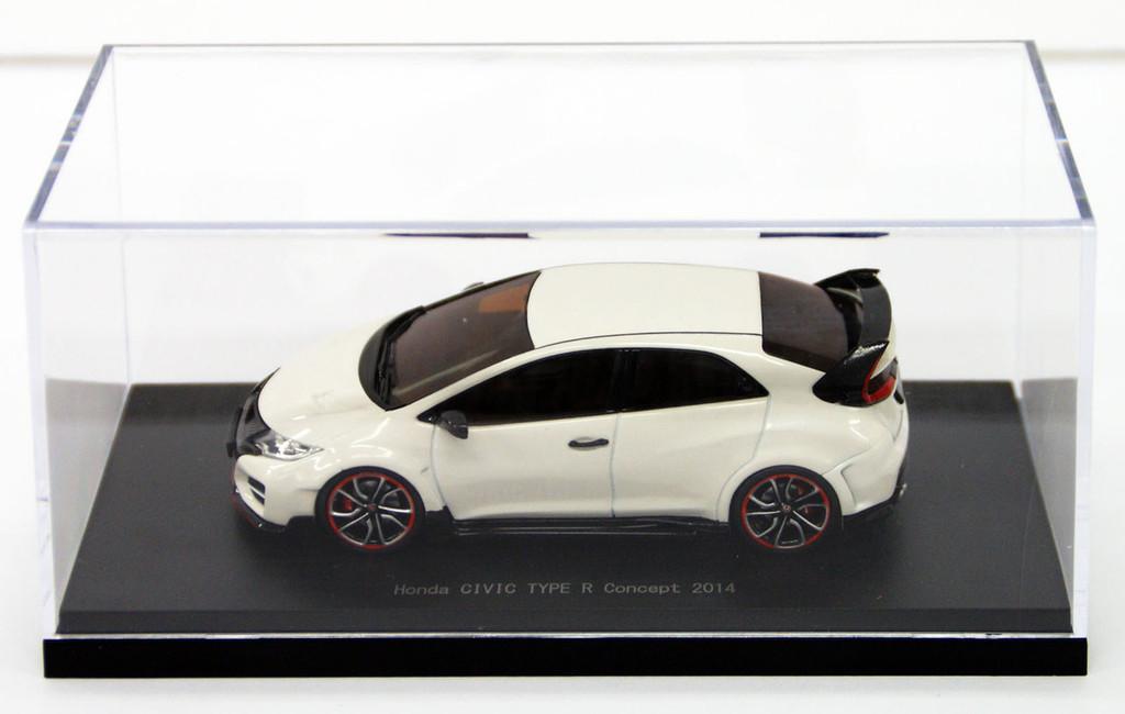 Ebbro 45245 HONDA Civic Type R Concept 2014 ChampionShip White 1/43 Scale