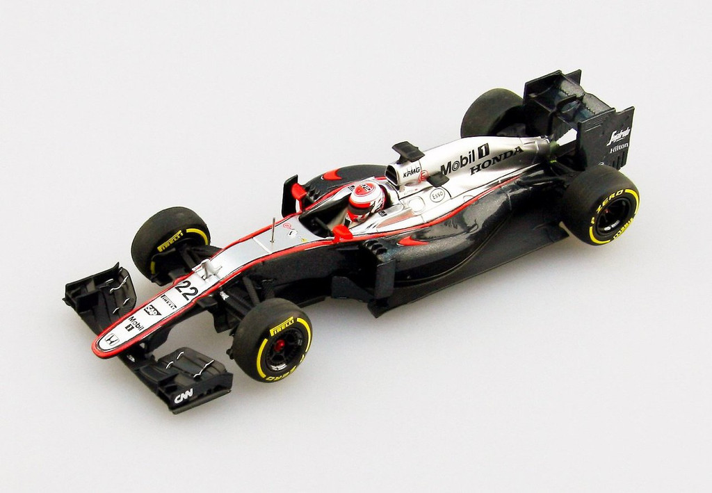 Ebbro 45325 McLaren Honda MP4-30 2015 Early Season Version No.22 1/43 Scale