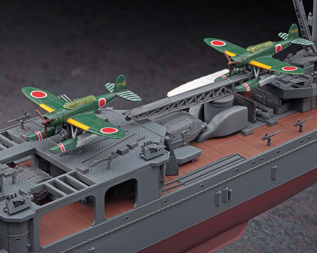 Hasegawa 40092 IJN Light Cruiser YAHAGI Battle of the Leyte Gulf 1/350 Scale Kit