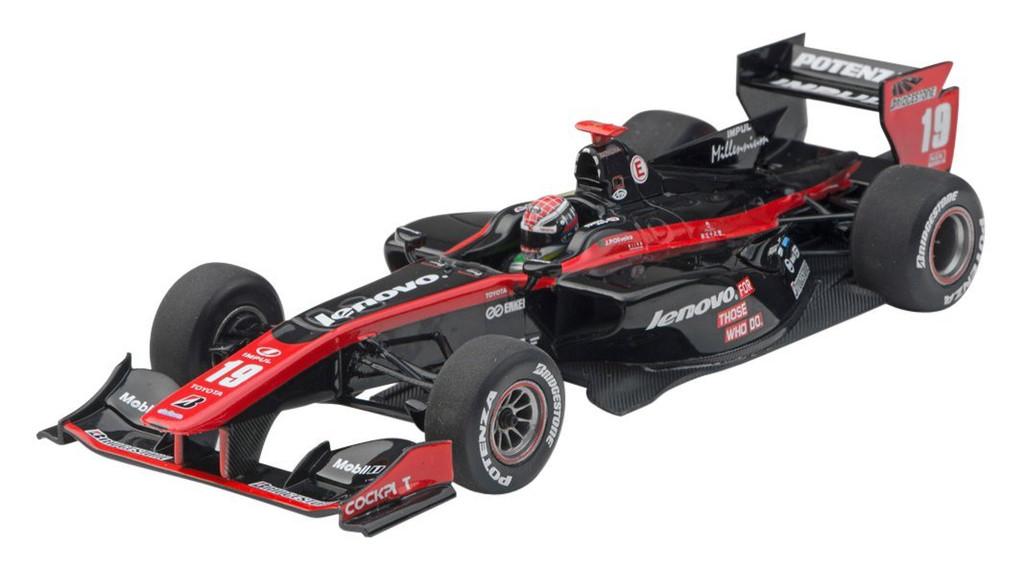 Ebbro 45122 Lenovo Team IMPUL SF14 2014 No.19 Black/Red 1/43 Scale