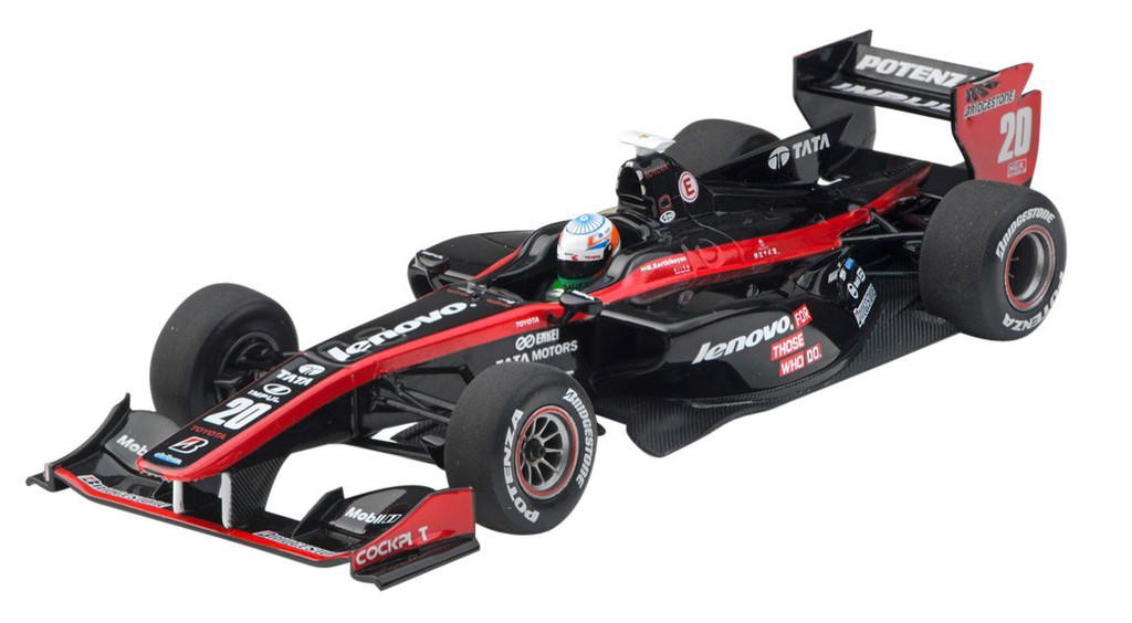 Ebbro 45123 Lenovo Team IMPUL SF14 2014 No.20 Black/Red 1/43 Scale
