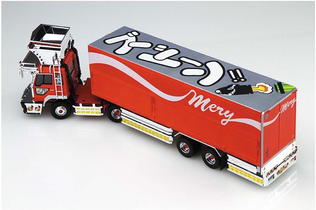 Aoshima 50316 Japanese Decoration Truck Gogosen no Mary 1/32 Scale Kit