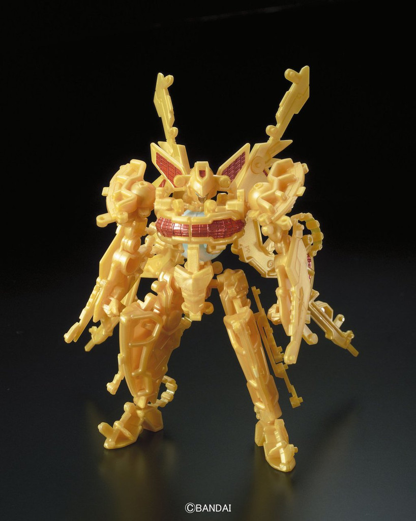Bandai 078586 FRAMERobo 01-CM GAEAFRAME (Version Chimera Form Color) Plastic Model Kit