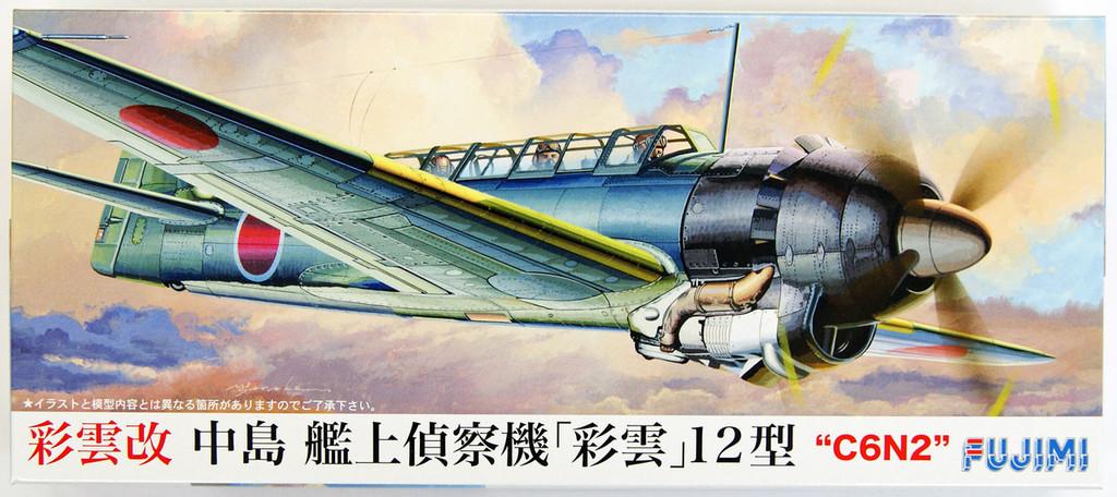 Fujimi C18 Nakajima Reconnaissance Aircraft Saiun-Kai Type 12 1/72 Scale Kit 722801