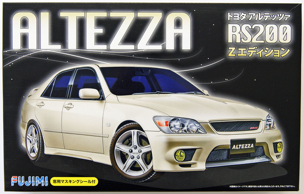 Fujimi ID-27 Toyota Altezza RS200 Z- Edition 1/24 Scale Kit 039503