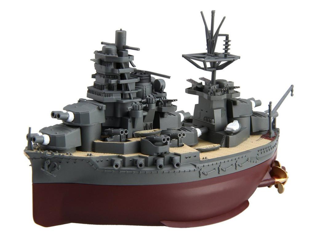 Fujimi TK20 Chibi-maru Kantai Fleet IJN BattleShip Hyuga non-Scale Kit