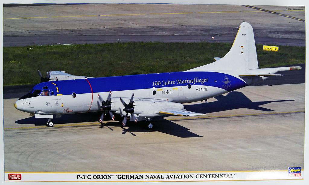 Hasegawa 02201 P-3C Orion German Naval Aviation Centennial 1/72 Scale Kit