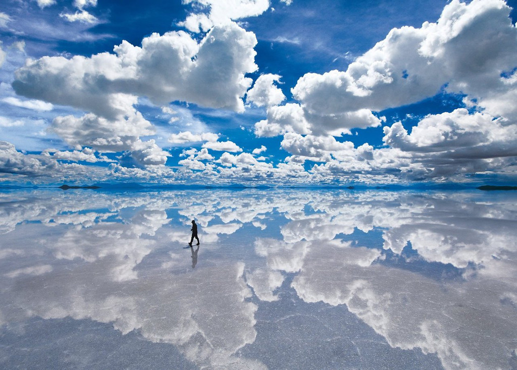 Epoch Jigsaw Puzzle 21-514 Uyuni salt lake Bolivia (3000 S-Pieces)