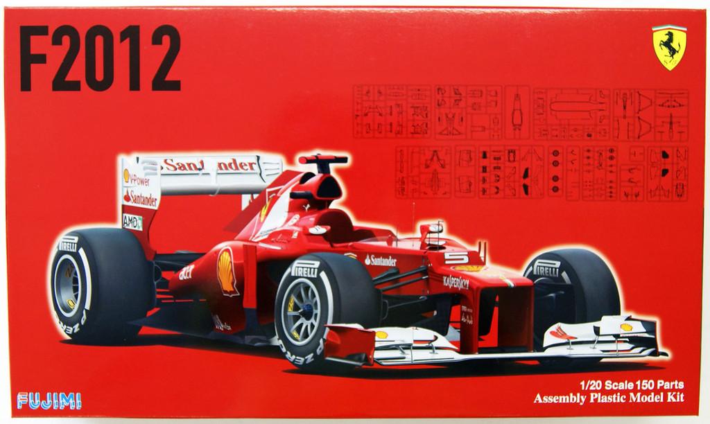 Fujimi GP7 091990 F1 Ferrari F2012 Malaysia GP 1/20 Scale Kit 091990