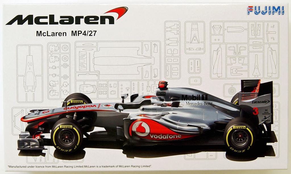 Fujimi GP11 092003 F1 McLaren MP4/27 Australia GP 1/20 Scale Kit 092003