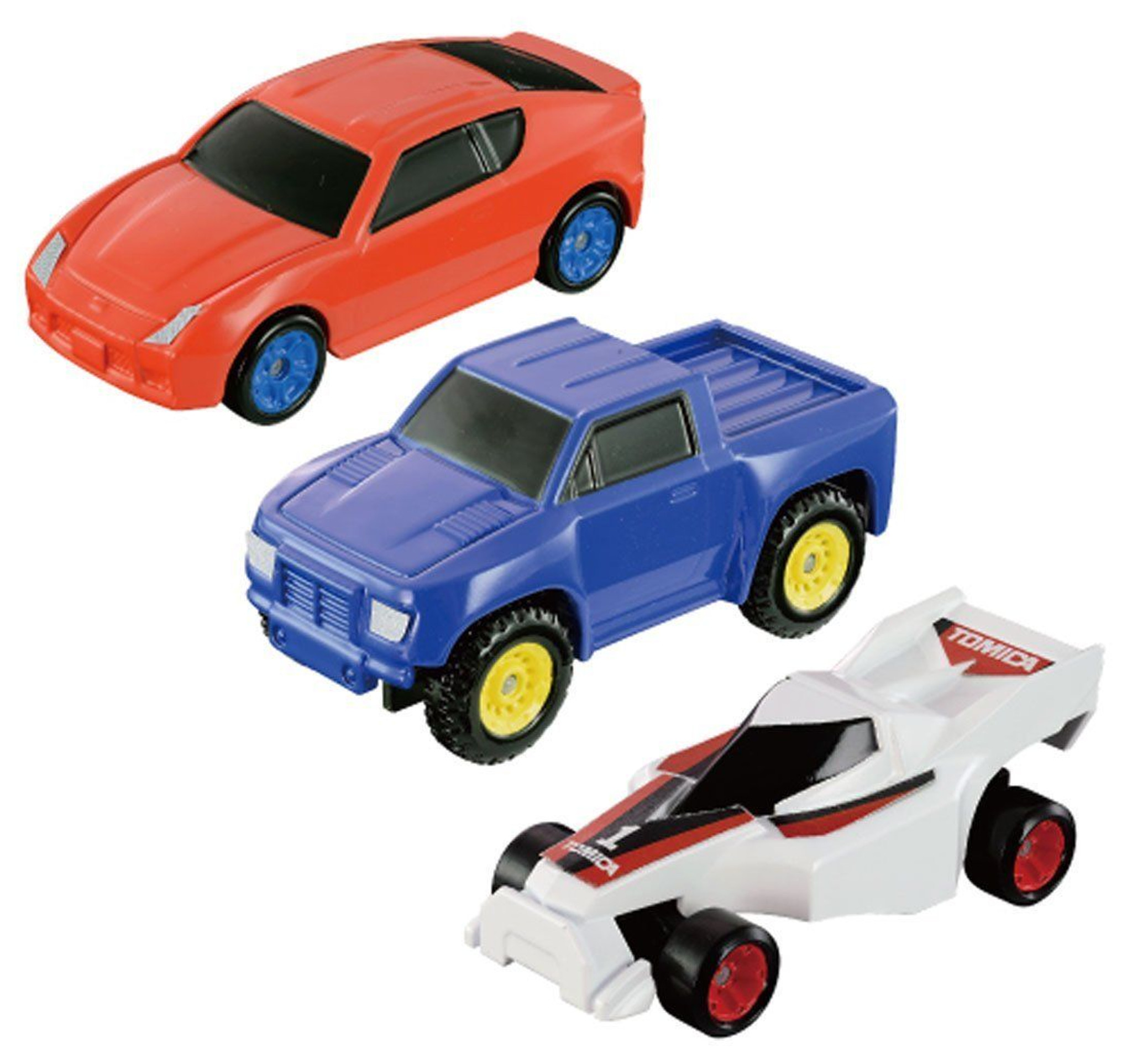 Tomy 837848 Tomica Assembly Machine with 3 cars - Plaza Japan