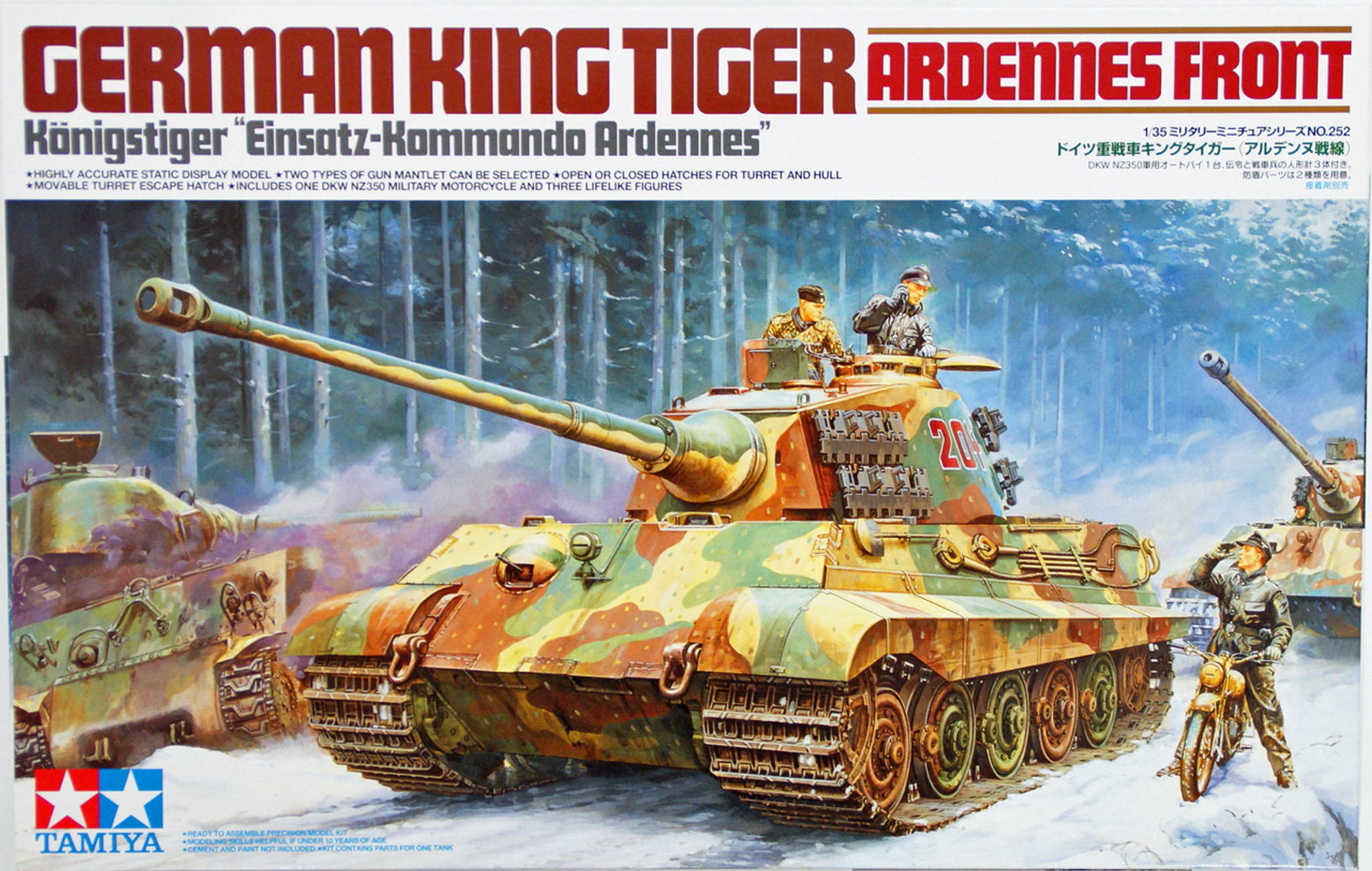 Image result for king tiger model kit