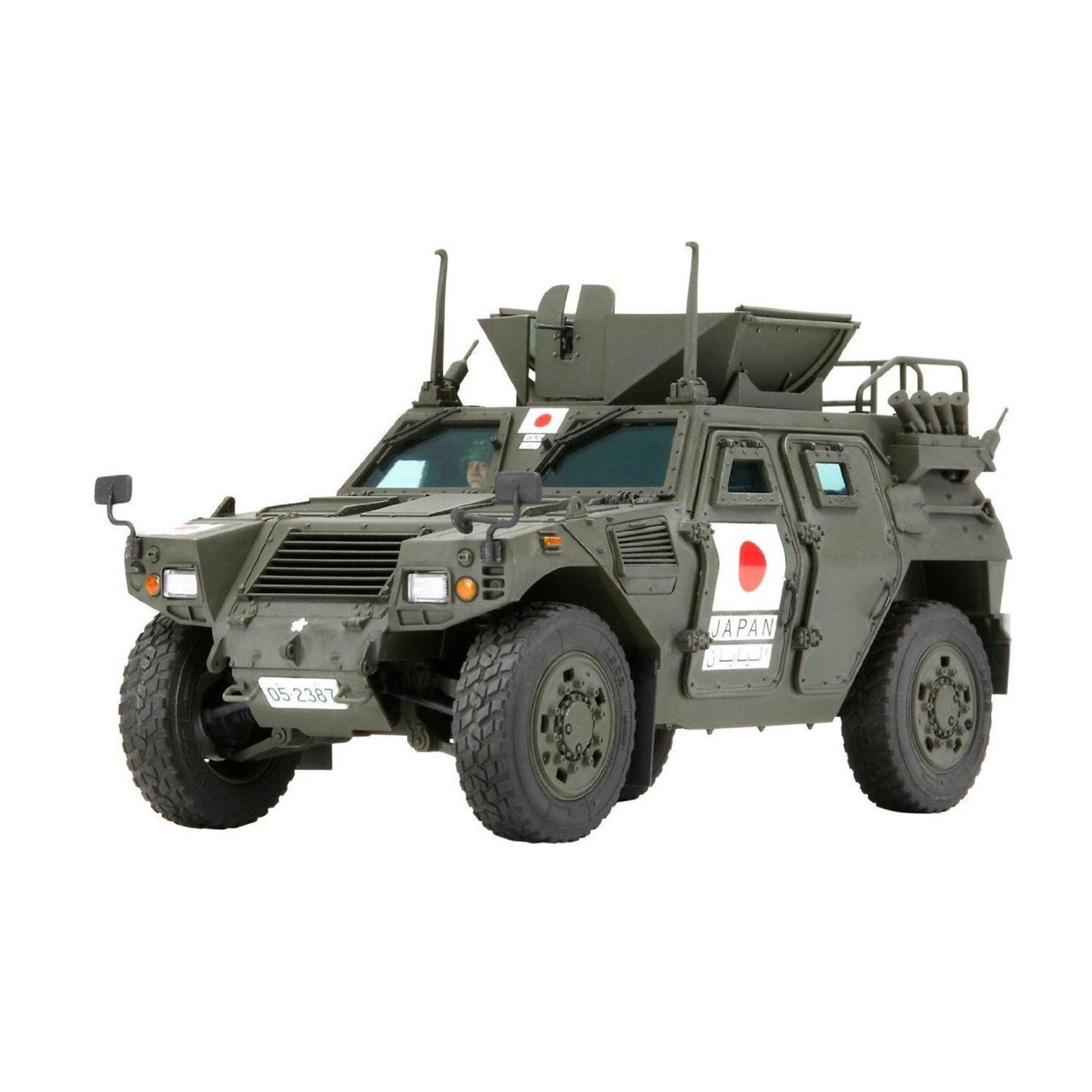 Tamiya 35275 JGSDF Light Armored Vehicle (Iraq Assistance Unit) 1/35 Scale  Kit ...