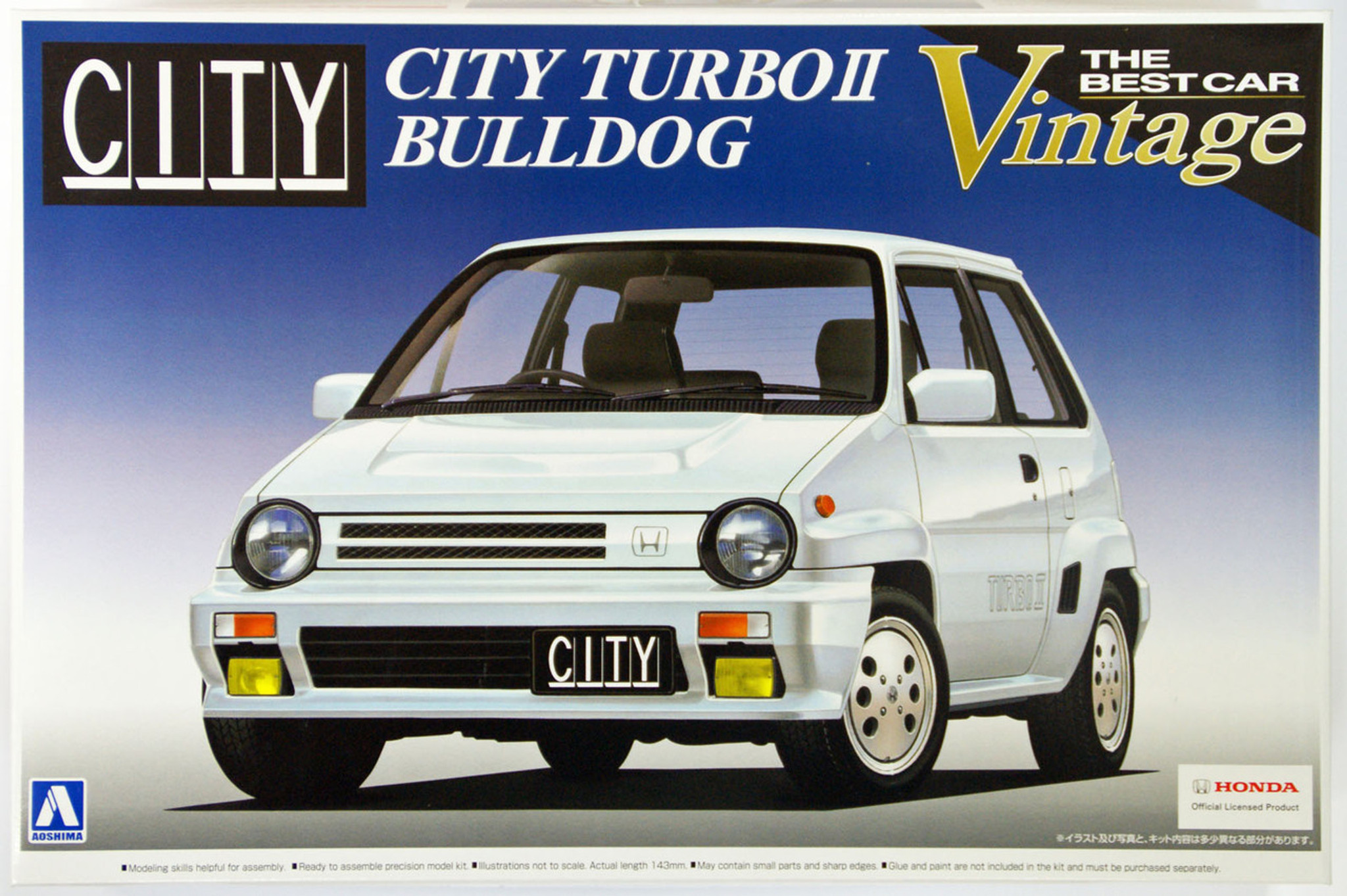 Aoshima 48368 Honda City Turbo II Bulldog 1 24 Scale Kit