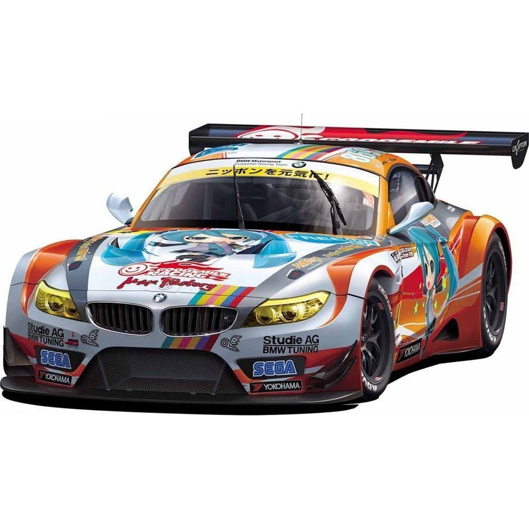 Bmw Z4 Gt3: Fujimi 170015 BMW Z4 GT3 Hatsune Miku GSR Project Mirai