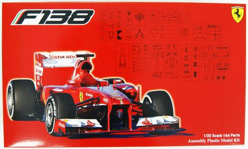 Fujimi GP16 92027 Ferrari F138 China GP 1/20 Scale Kit 092027