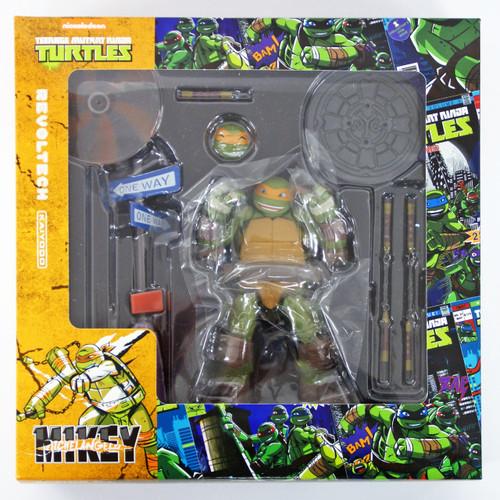 Kaiyodo Revoltech Teenage Mutant Ninja Turtles Michelangelo Figure