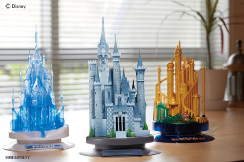 Bandai 080923 Castle Craft Collection CINDERELLA Plastic Model Kit
