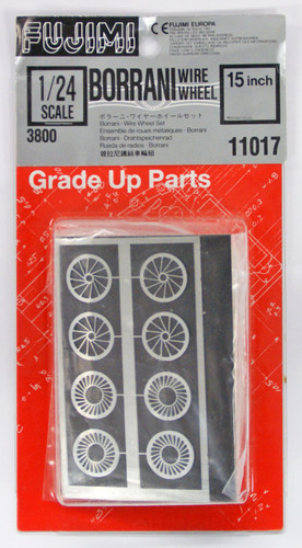 Fujimi Dup12 110172 Detail Up Series 1/24 Metal Wire Wheel (Boranni)