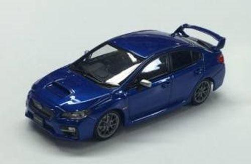 Ebbro 45308 SUBARU WRX STI 2014 (WR Blue) 1/43 Scale