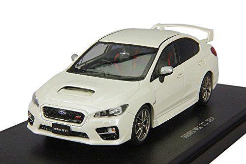 Ebbro 45309 SUBARU WRX STI 2014 (White) 1/43 Scale