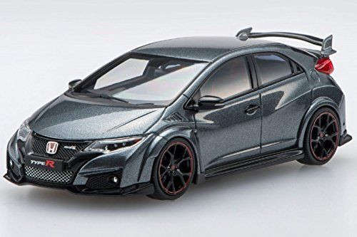 Ebbro 45356 Honda CIVIC TYPE R 2015 Polished Metal Metallic 1/43 Scale