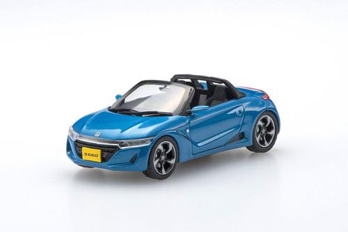 Ebbro 45360 Honda S660 BLUE 1/43 Scale