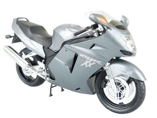 Aoshima Skynet 79935 Honda CBR1100XX Super Black Bird (Silver) 1/12 Scale