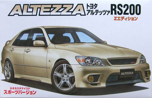 Fujimi ID-27 Toyota Altezza RS200 Sports 1/24 Scale Kit 034676