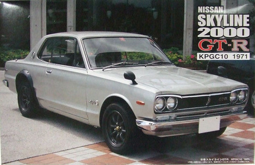 Fujimi ID-33 Nissan Skyline GT-R KPGC10 1971 1/24 Scale Kit 035673