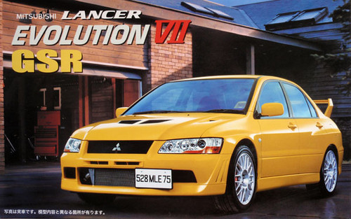 Fujimi ID-34 Mitsubishi Lancer Evolution VII GSR 1/24 Scale Kit 035208