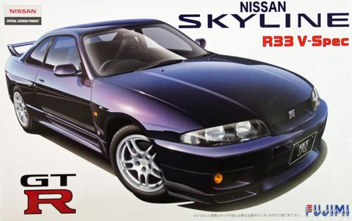 Fujimi ID-39 Nissan Skyline GT-R R33 V-Spec 1/24 Scale Kit