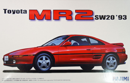 Fujimi ID-40 Toyota MR2 (SW20) 1993 1/24 Scale Kit