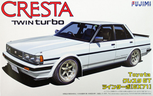 Fujimi ID-41 Toyota Cresta GT Twin Turbo (GX71) 1/24 Scale Kit
