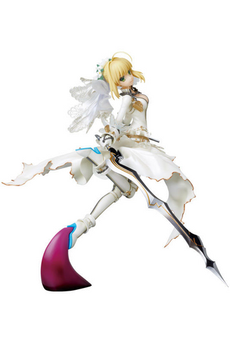 Medicom PPP 004 Saber Bride Fate/Extra CCC Pre-painted PVC Figure 1/8 Scale